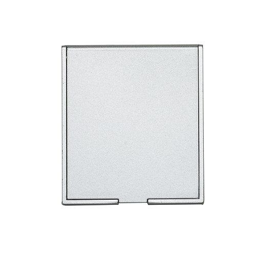 Espelho plástico Retangular Sem Aumento