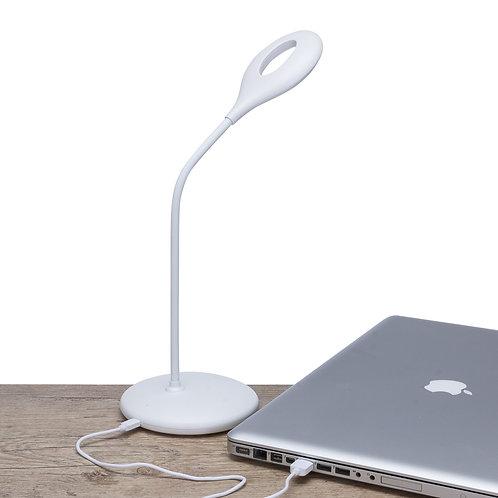 Luminária Plástica de Mesa 12 Leds Flexível