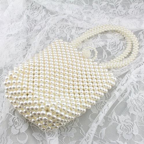 Stor perle taske