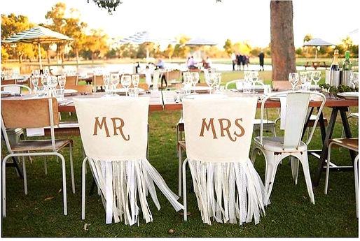 Wedding Reception Bridal Table