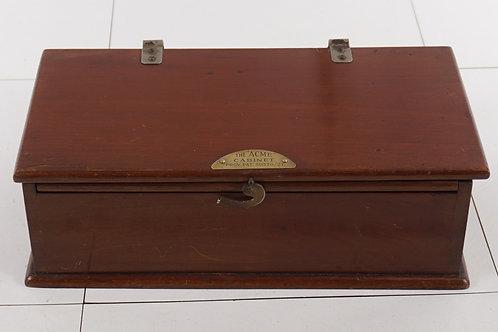 Ca 1920s Collar Box By The Acme Cabinet