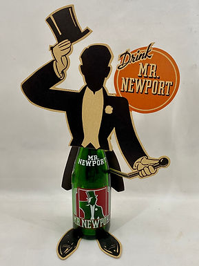 Drink Mr Newport Display with Bottle