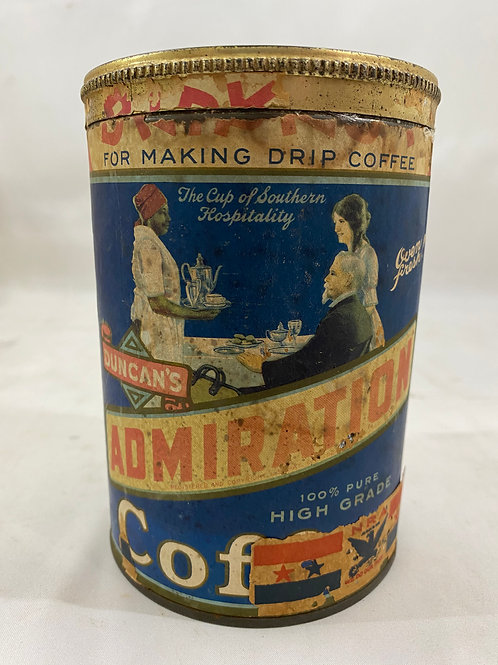 Duncan's Admiration Coffee Tin