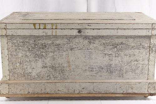 Primitive Wooden Tool Chest
