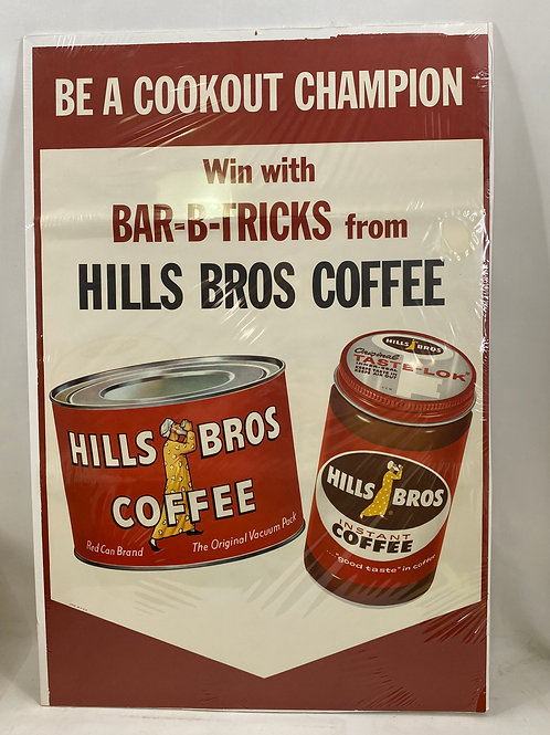 Be a Cookout Champion Bar-B-Tricks Hills Bros Coffee Ad