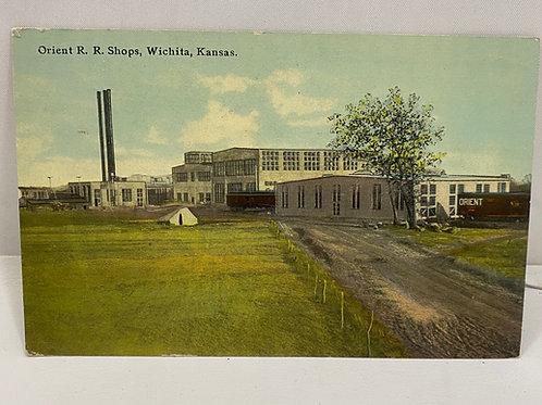 1912 Orient R R Shops, Wichita Kansas