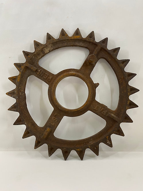 Vintage Cast Iron Gear or Wheel