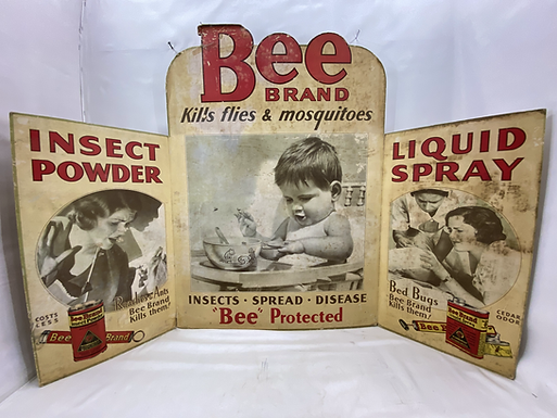 Bee Brand Insect Powder and Liquid Spray Ad