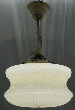 Art Deco Pendant Light Fixture - Ca 1930s