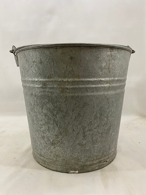 #12 Galvanized Bucket