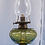 Thumbnail: 1890s Queen Heart Oil Lamp By Danzel Gilmore - Leighton Co