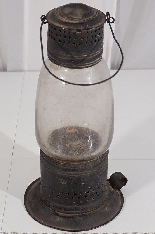 1854 American Whale Oil Lantern - N.E. Glass Co
