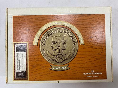 Antonio Y Cleopatra Cigar Box
