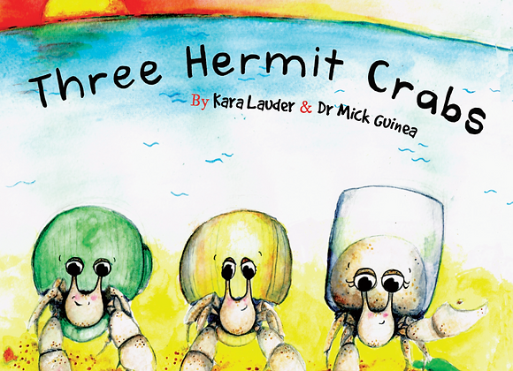 Three Hermit Crabs