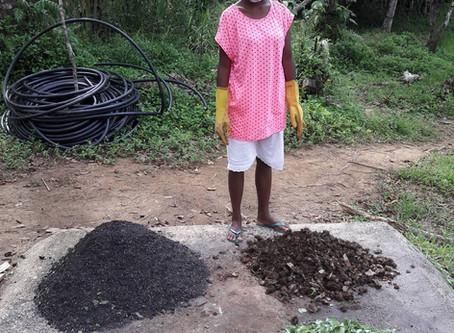 Making Organic Bokashi Fertilizer