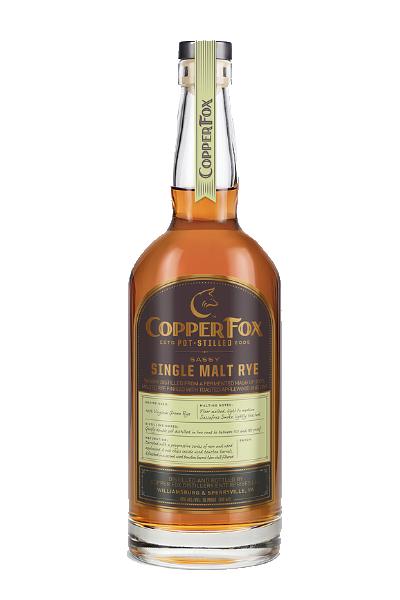 Copperfox Sassy Single Malt Rye