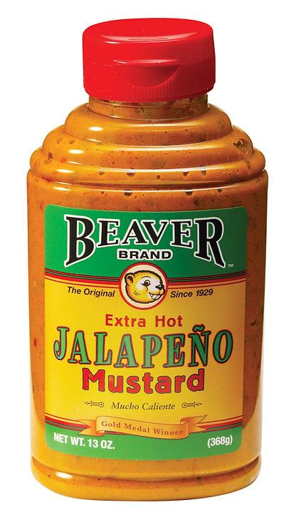 Beaver Brand Extra Hot Jalapeño Mustard
