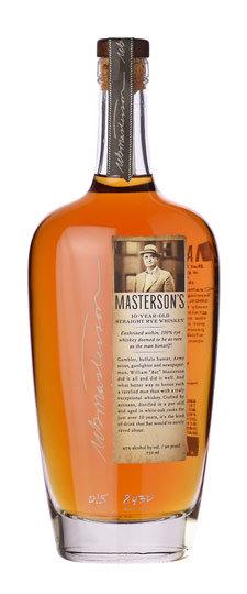 Masterson's 10 Year Old Rye Whiskey