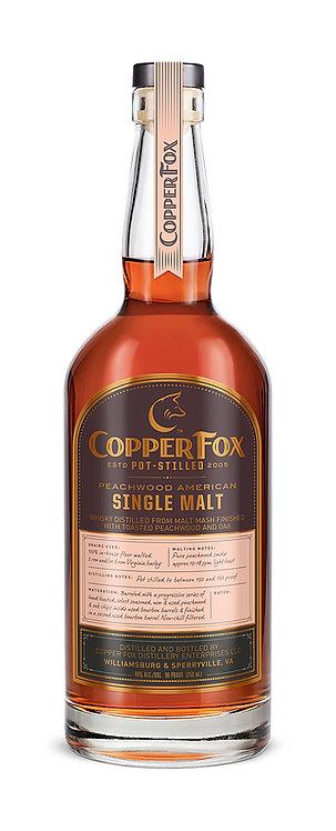 Copper Fox Single Malt Peachwood