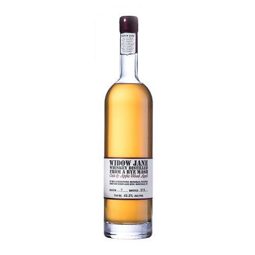 Widow Jane Distilled from a Rye Mash American Oak & Apple Wood Aged Whiskey 750m