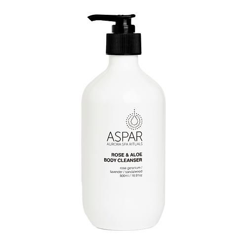 Aspar Rose & Aloe Relaxing Body Cleanser 500ml