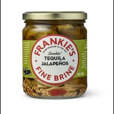 Frankie's Tequila Jalapenos 453g