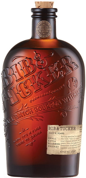Bib & Tucker Small Batch Bourbon Whiskey 6 yo
