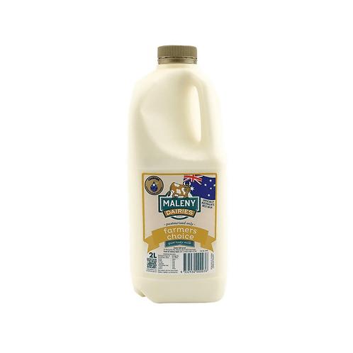 Maleny Farmer's Choice Milk 2lt