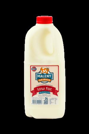 Maleny Low Fat Milk 2lt