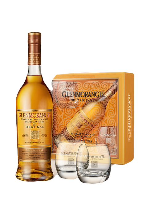 Glenmorangie 10 Year Old - Gift Pack with 2 x Glasses