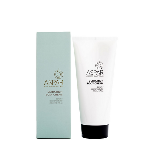 Aspar Ultra Rich Body Cream 200ml