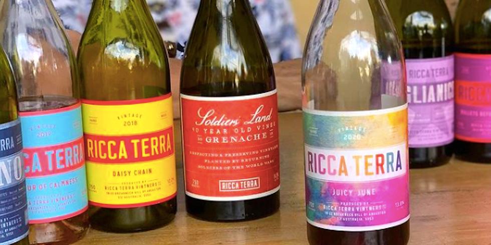 Ricca Terra Wine Tasting
