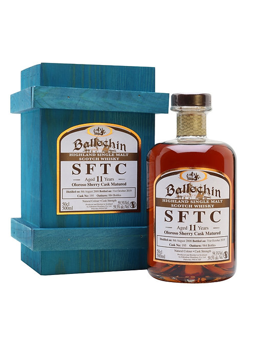 Ballechin 2008 10yo Bourbon Cask 500ml