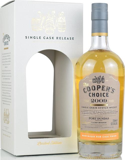 2009 Cooper's Choice Port Dundas 10 yo Cask Strength Single Grain