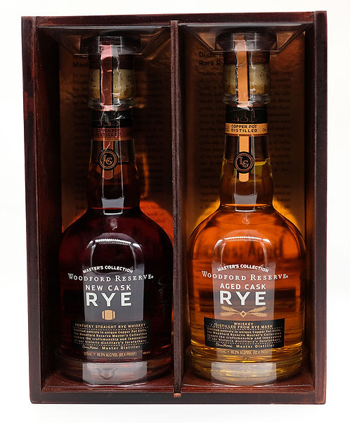 Woodford Reserve Master's Collection New Cask Rye Whiskey (2 x 350ml)