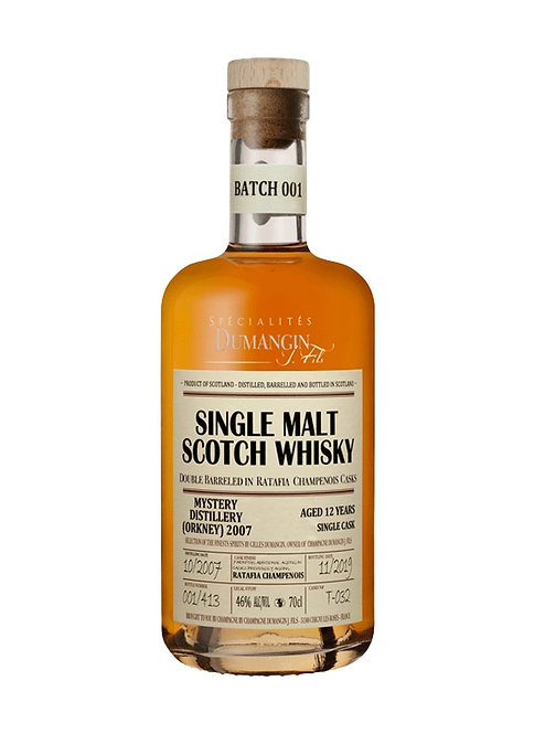 2007 Dumangin Mystery Distillery (Orkney) Batch 001 Single Cask 12yo