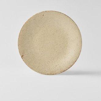 SAND FADE PLATE DINNER 24.5D X 3.5H