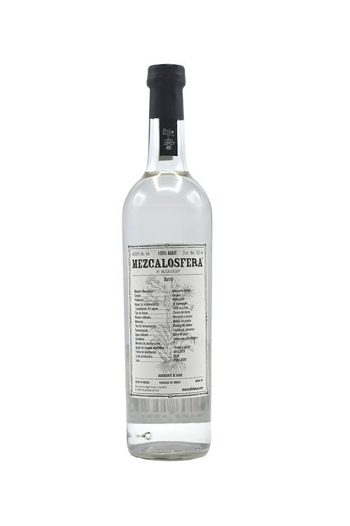 MEZCAL MEZCALOSFERA - 100% BARRIL AGAVE BY MARGARITO CORTES