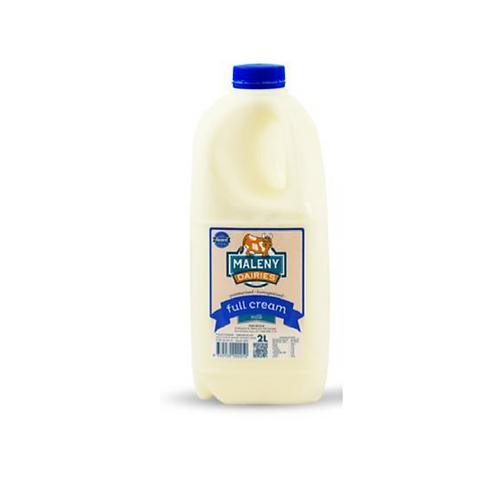 Maleny Full Cream Milk 2lt