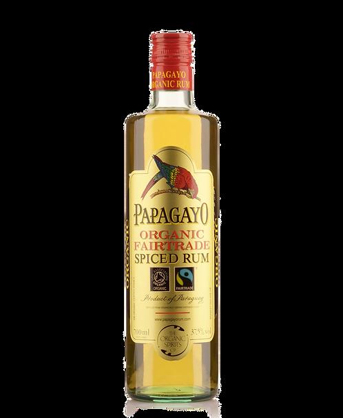 Papagayo Organic Fairtrade Spiced Rum 700ml