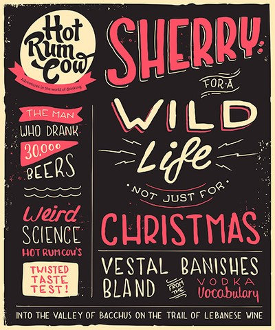 Hot Rum Cow Issue 4. Sherry for a Wild Life