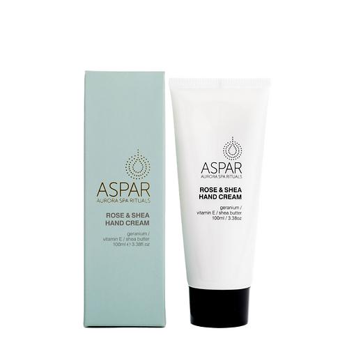 Aspar Rose & Shea Hand Cream 100ml