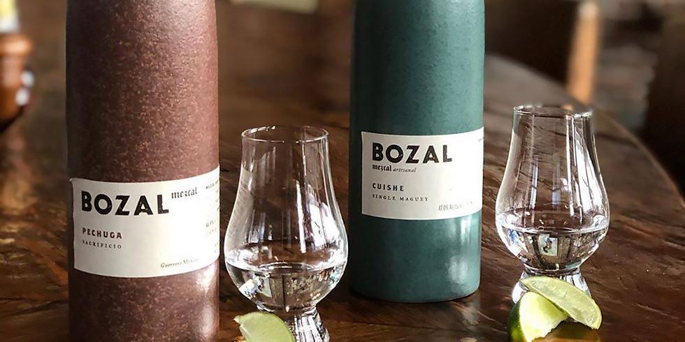 Bozal Mezcal Tasting