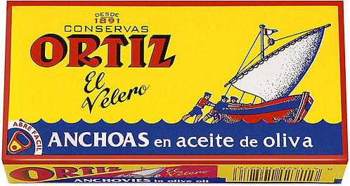 Ortiz Anchovy in Olive Oil 475g