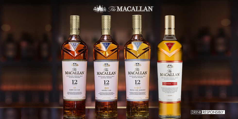 Macallan Whisky Tasting - Intro to whisky