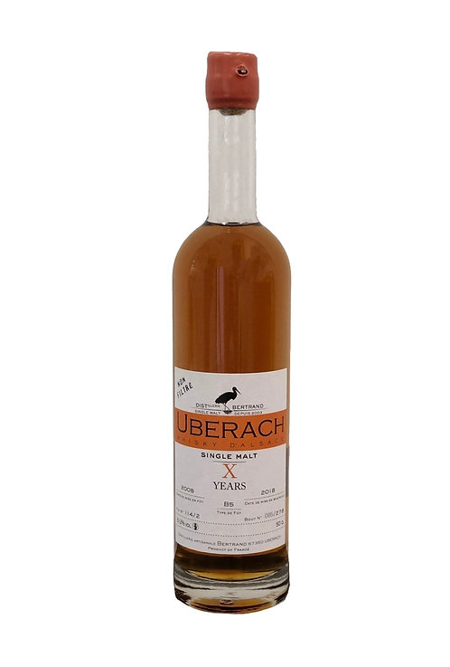 "Bertrand Uberach ""X"" 10 yo 500ml"