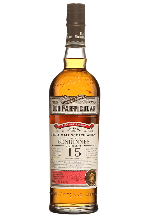 Benrinnes 15 Year Old 2004 - Old Particular (Douglas Laing)