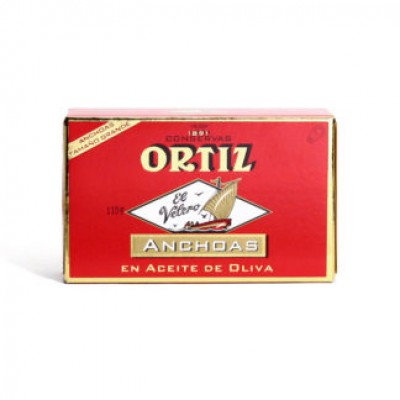 Ortiz Anchovy Fillets 110g