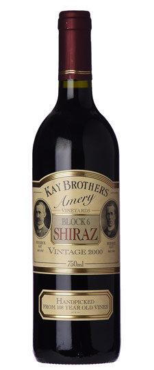 Kay's Brothers Block 6 Shiraz 2000
