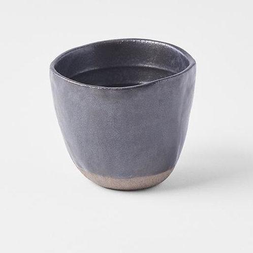 Lopsided Tea Mug MT Black & Bisque 7H 200ml